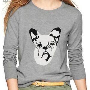 Gap French Bulldog Sweater
